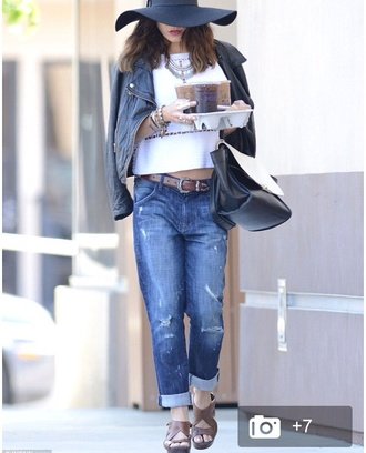 jeans vanessa hudgens top belt