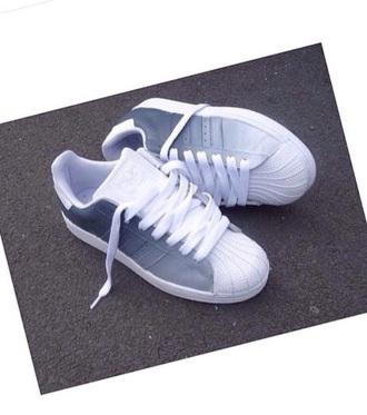 shoes grey white adidas fade nike adidas originals