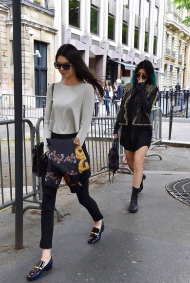 grey sweater blouse grey kenneth gray sweater greg long sleeve kendall kylie