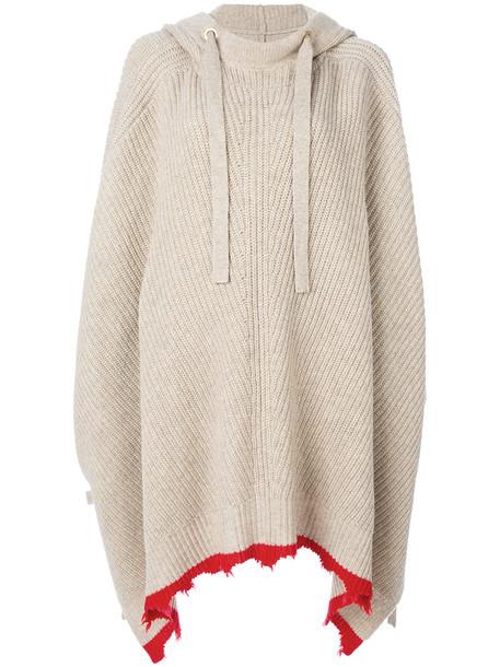 Zadig & Voltaire cape women nude wool top