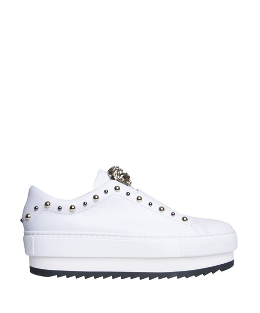 VERSACE sneakers leather shoes
