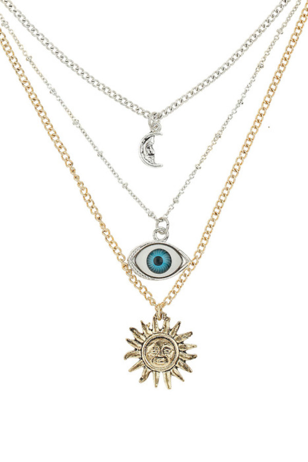 eye bracelets sun moon jewels