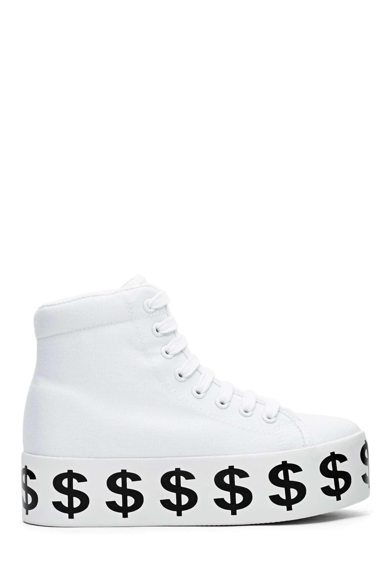 Jeffrey campbell dolla platform sneaker