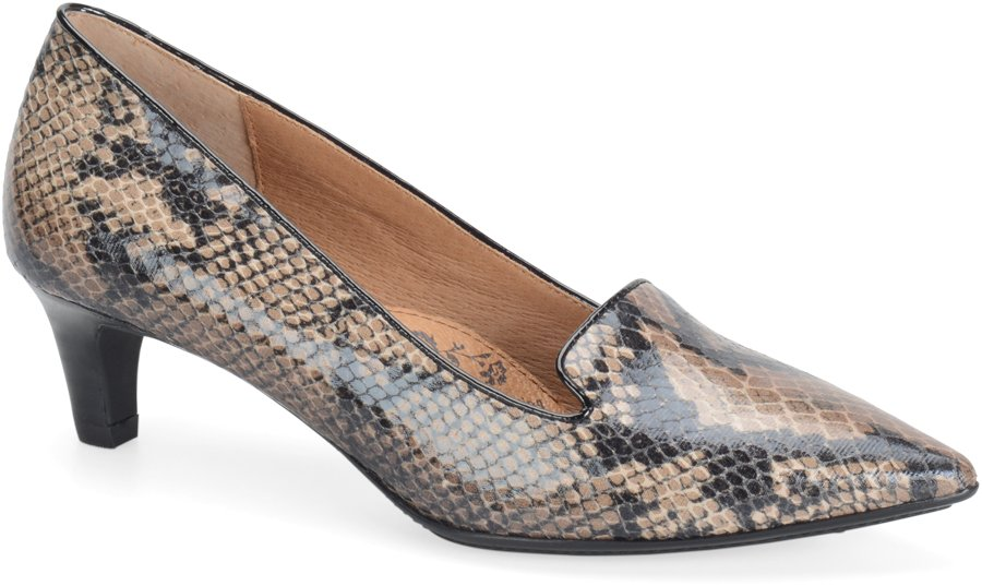 Sofft Vesper in Sand Snake Print - Sofft Womens Dress on Shoeline.com