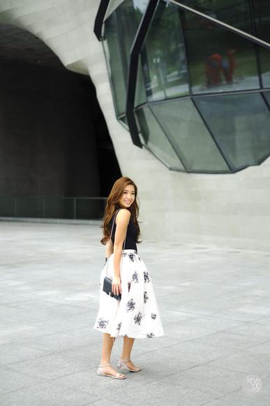 kryzuy shoes top skirt bag