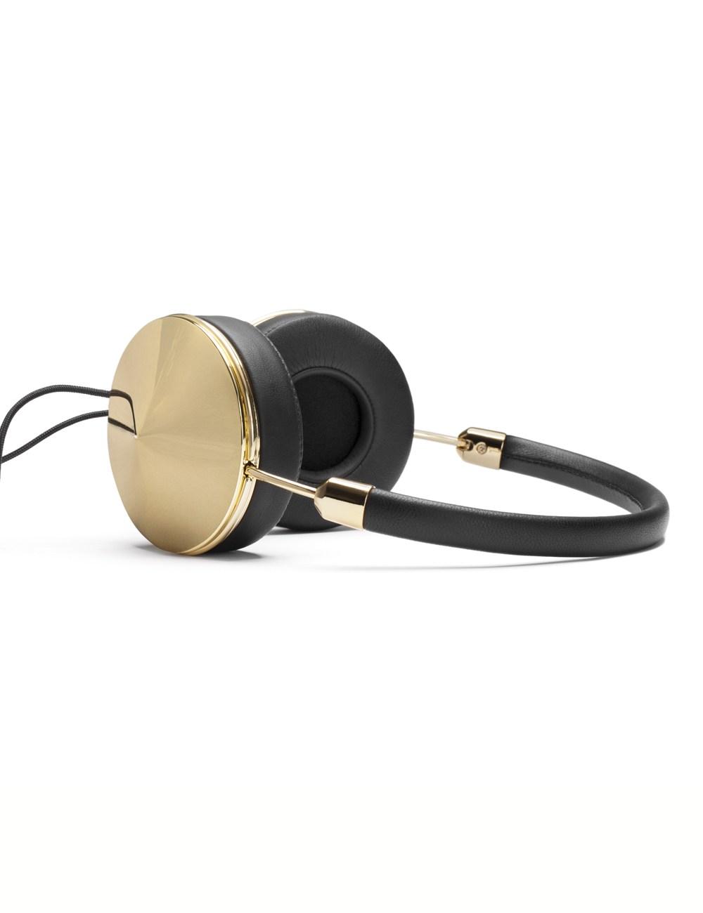 Gold black taylor headphones
