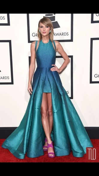 dress blue dress blue ombre taylor swift