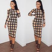 dress,sexy,sexy dress,amrezy,party,party dress,clubwear,elegant dress,evening outfits,date dress,midi,midi dress,nude,nude dress,cool,trendy,bodycon,bodycon dress,girly,dope,classy,mesh,black,black dress,club dress,elegant,evening dress,date outfit,long sleeve dress,long sleeves,holiday dress,see through,fashion,caged,celebrity style,new year dresses