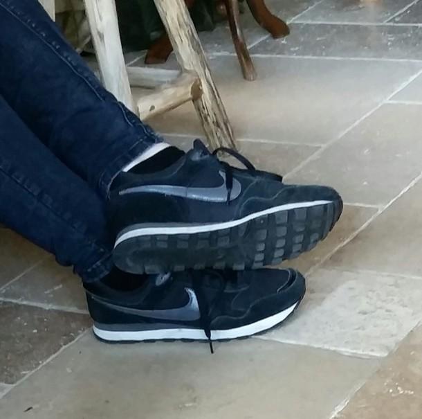 shoes black shoes black grey nike shoes nike
