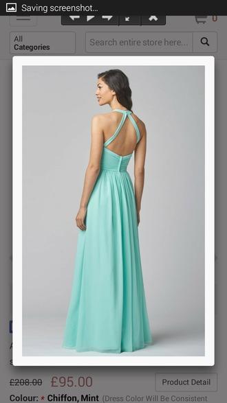 dress mint green bridesmaid dresses
