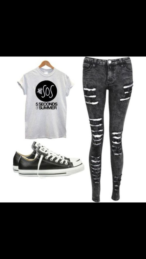 5 seconds of summer 5 seconds of summer jeans ash ashton irwin
