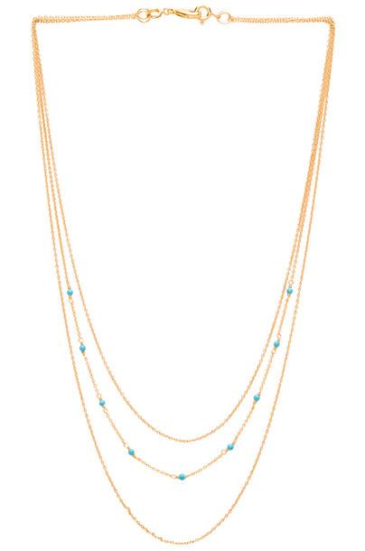 gorjana DIY Lagoon Chain 3 Layer Set Necklace in gold / metallic