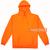 Orange Hoodie Unisex Adult Size S to 3XL | Orange Hoodie
