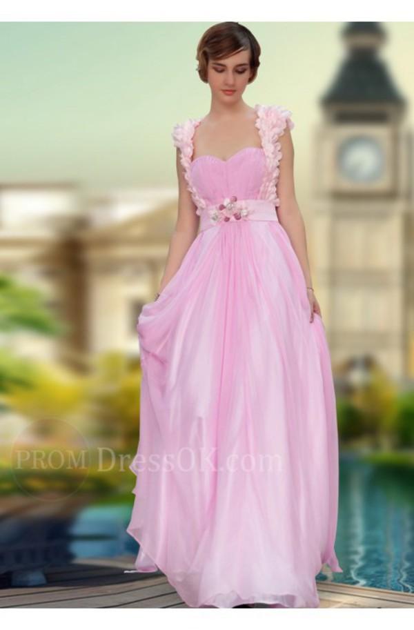 bf6ccdceb950 Aliexpress.com : Buy Free shipping DorisQueen 30630 Chiffon Pink ...