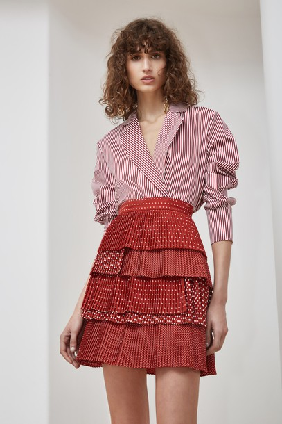 C/MEO COLLECTIVE skirt red