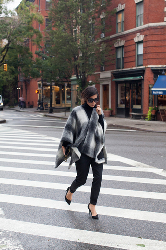 this time tomorrow blogger poncho plaid
