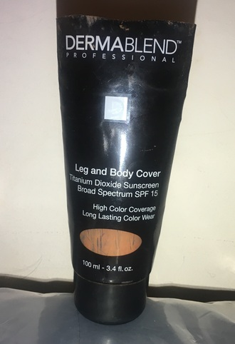 make-up dark dermablend dermablend professional leg and body cover dark shade