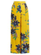 floral,print,yellow,pants