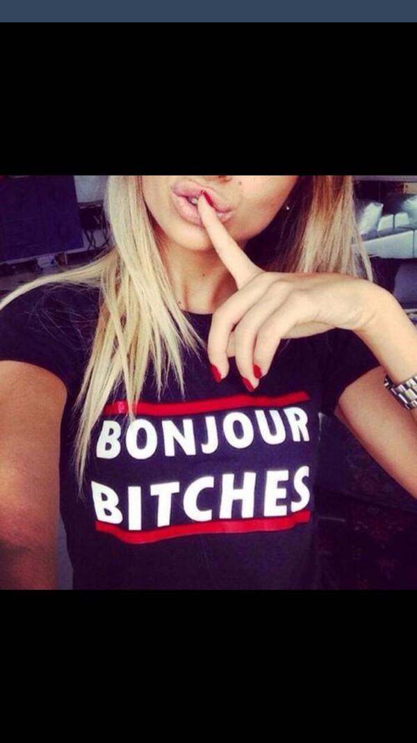 t-shirt bitch