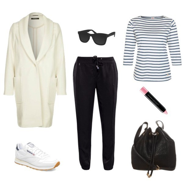 jestem kasia pants bag t-shirt coat shoes sunglasses