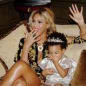 jewels,beyoncé shirt,beyonce # mrs carter show #white,blue ivy,gold ring,gold necklace,blonde hair,ring,beyonce,spikes