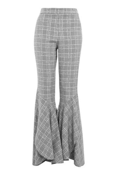 Topshop flare monochrome pants