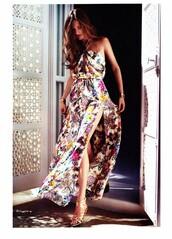 maxi dress,floral,dress,flowered maxi dress,floral maxi dress