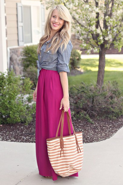 skirt purple skirt maxi skirt