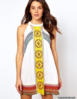 dress beachwear summer sea beach dress ethnic