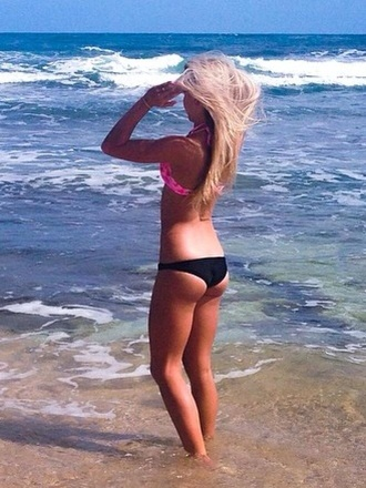 swimwear black black bikini summer bikinis black bikini bottoms bikini bottoms pink bikini top black and white bottom swimwear black swimmers pink bikini top pink bikini top bandeau beach beach swimmers summer