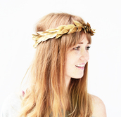 hair accessory,gold,crown,hair band,headband,leaf headband,gold accessory,hair,hippie,flower crown,festival,wedding accessories