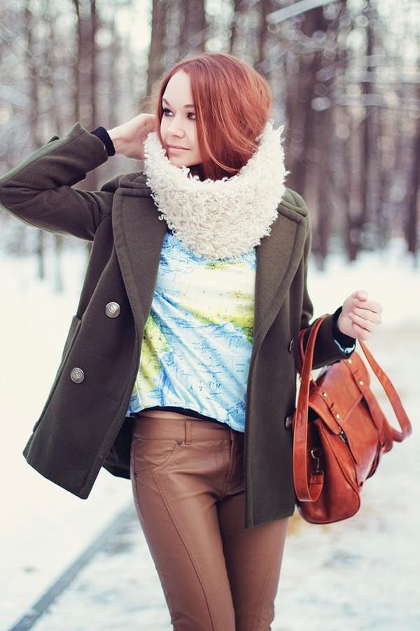 gvozdishe coat sweater pants bag shoes