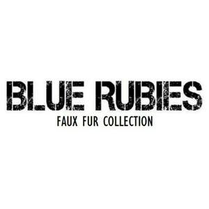 Blue Rubies Faux Fur Collection