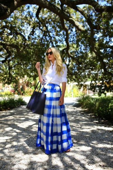 atlantic pacific skirt top shoes bag blogger