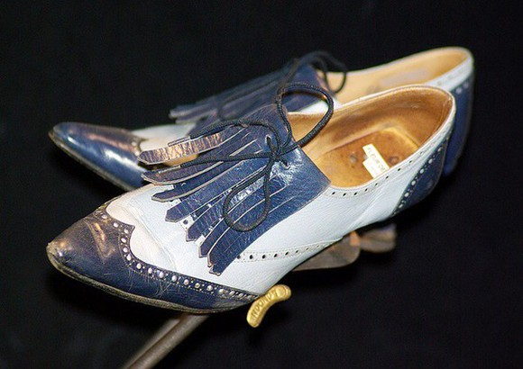 oxfords lace up spectator high heels vintage boots powder blue pastel fleur delacour beauxbatons harry potter