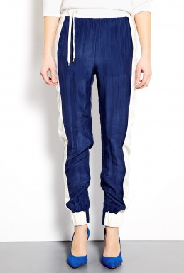 By Malene Birger | Aya Cotton and Silk Joggers by By Malene Birger