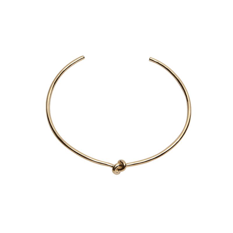 Knot Choker - Neck - Brass Collection