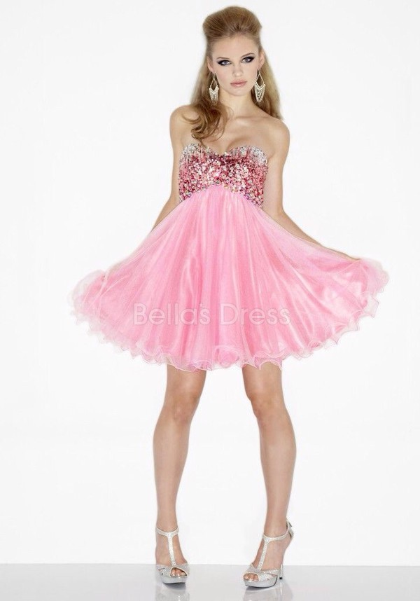 pink dress pink prom dress prom dress dress