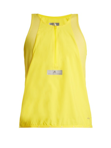ADIDAS BY STELLA MCCARTNEY tank top top run yellow