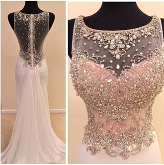dress embellished gown