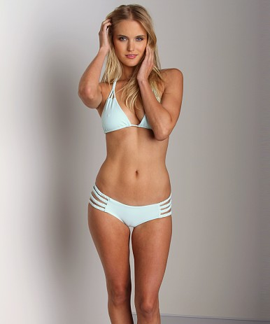 Tori Praver Shyla Bikini Bottom Seaglass Shyla-B-R2013  at Largo Drive Underwear & Swimwear