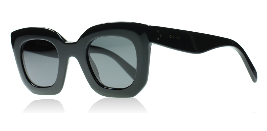 1ed9e2a4177 Celine Marta Small Sunglasses   Marta Small Black 807   US