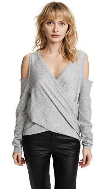 Line & Dot sweater cold grey