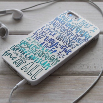 phone cover 5 seconds of summer