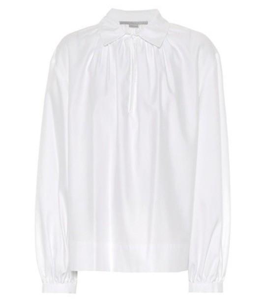 Stella McCartney blouse cotton white top