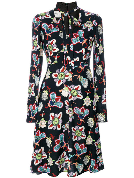 dress shirt dress women print silk