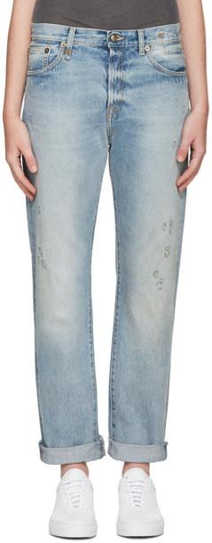 R13 jeans classic blue