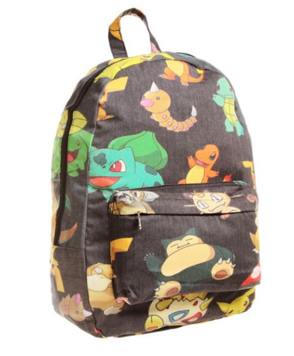 bag backpack pokemon