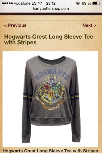 shirt harry potter hogwarts