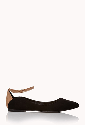 Classic Faux Suede Flats | FOREVER21 - 2000075448